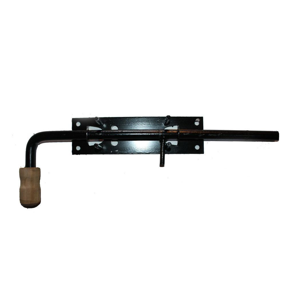 Задвижка гаражная вертикальная с ручкой №11 , 250*70(10292)