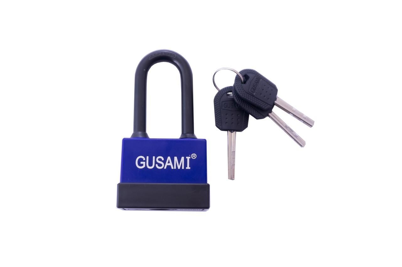 Замок навесной GUSAMI-длинная дужка -45 мм (10240)