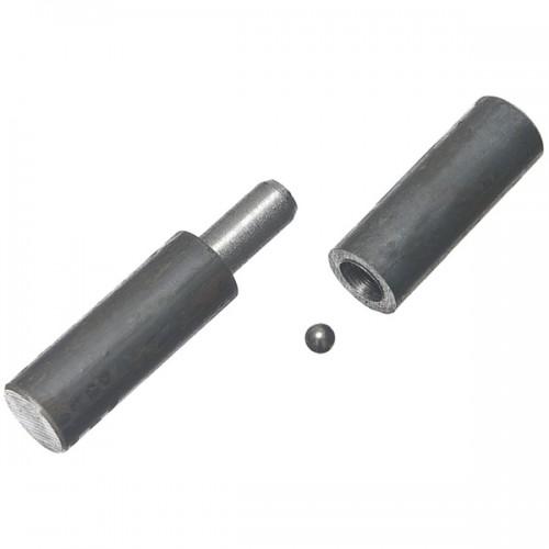 Петля для металлических дверей с шаром 12 длина 80 (9442)