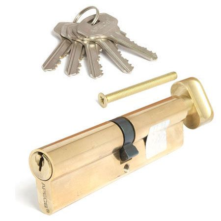 Цилиндровый механизм Апекс 110 SС ключ-вертушка золото (5550)