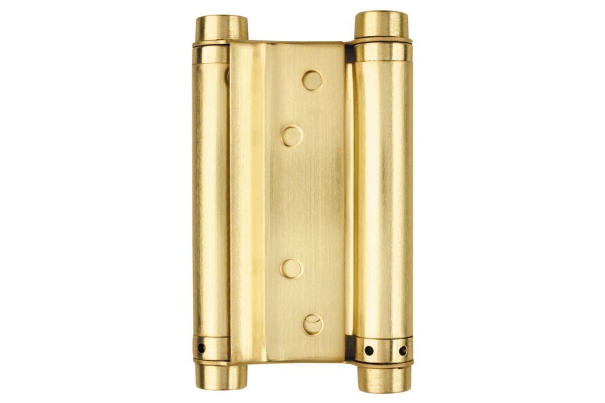 Петли метро KL-100 мм золото STRONG (6967)