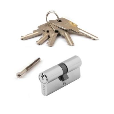 Цилиндровый механизм АВЕРС ZC 70 ключ-ключ хром (9787)