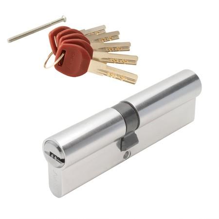 Цилиндровый механизм АВЕРС JM 100 ключ-ключ хром (9147)