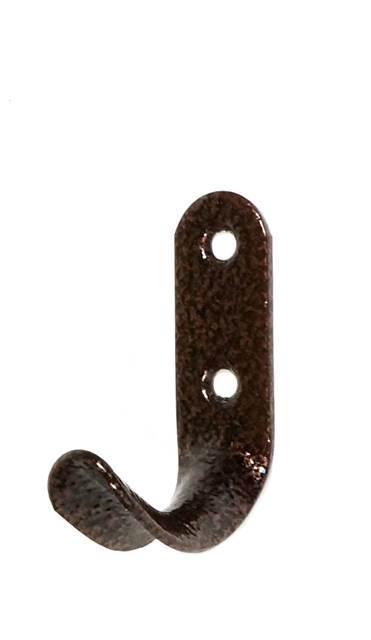 Крючок вешалка № 7 медь (7867)