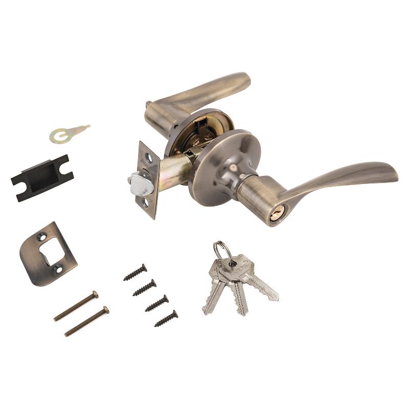 Защелка АВЕРС 8023-01 ключ-фиксатор бронза (10126)