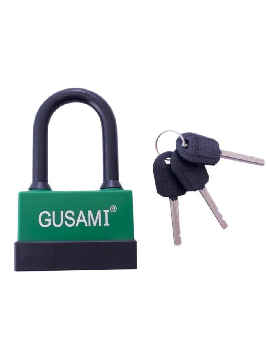 Замок навесной GUSAMI-длинная дужка -55 мм (10241)