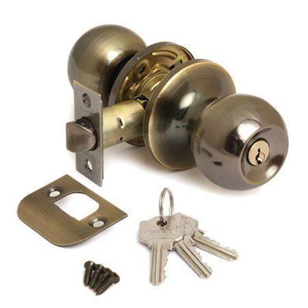 Защелка АВЕРС 6072-01 бронза ключ-фиксатор (10171)