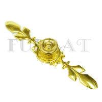 Мебельная ручка кнопка 2333 А золото (9629)