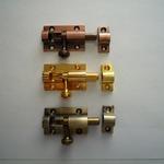 Шпингалет STRONG KL-410 хром, золото, бронза, медь