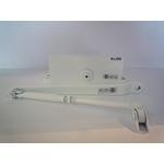 Доводчик СИРИУС 714 (80-120 кг) белый, коричневый, серебро.