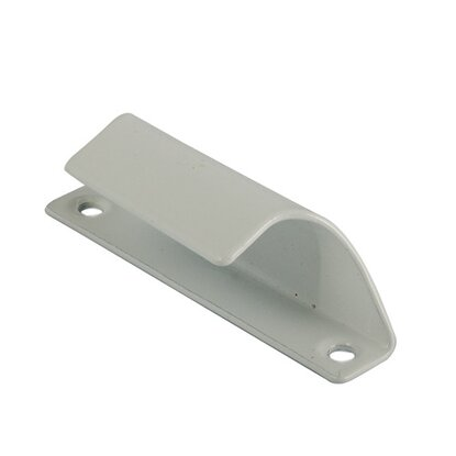 Ручка балконная 302-2 металлическая белая (9436)