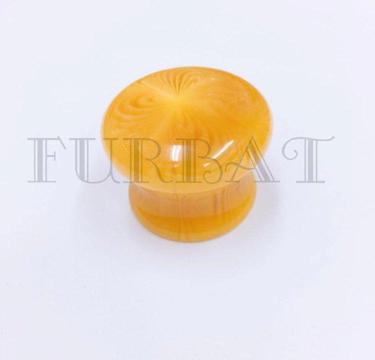Мебельная ручка кнопка 2501В-1 бежевый (9524)
