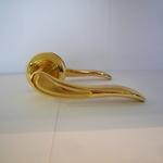 Ручки RICH DOOR 02 матовое золото-золото