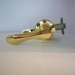 Защелка СИРИУС 500-00 золото с ключом, с фиксатором, без фиксатора.
