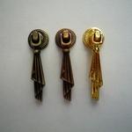 Мебельная ручка кнопка STRONG KL-45 бронза, золото, медь
