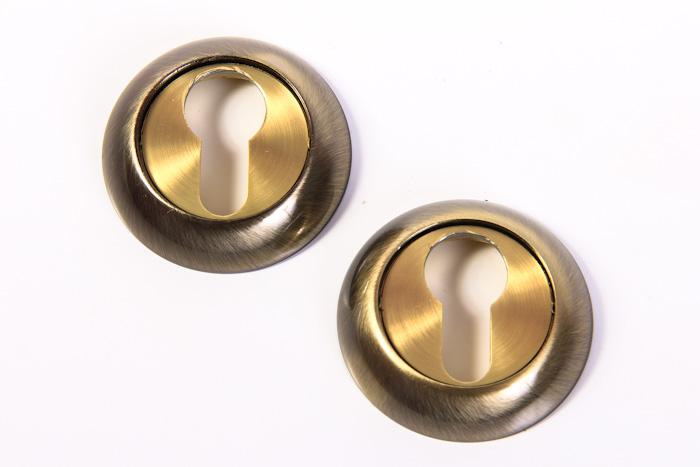Накладка под ключ НК-A старая бронза (8045)