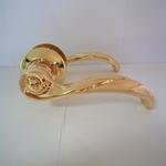 Ручка дверная Casa de Bronces 730 золото
