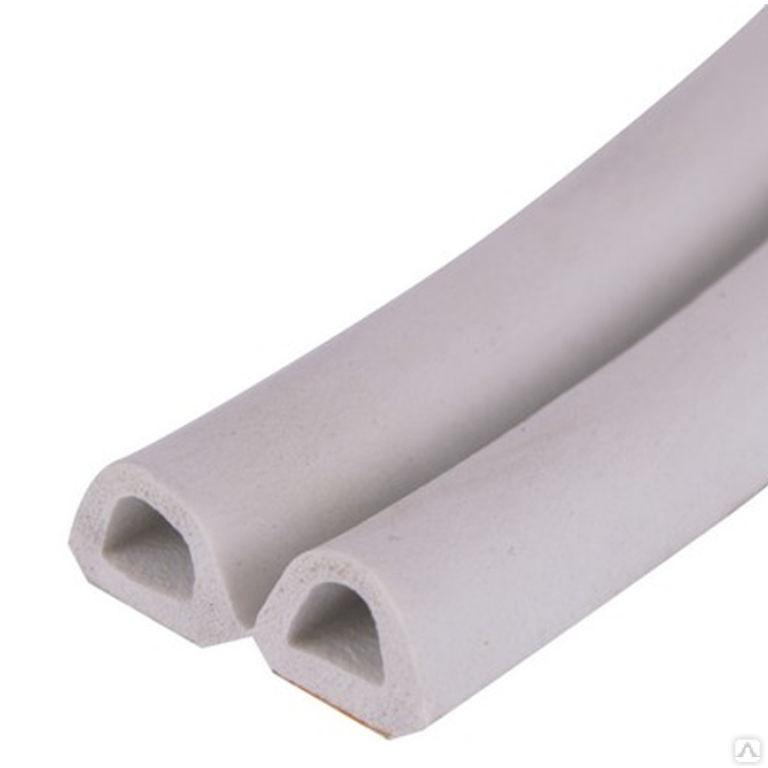 Уплотнитель D50 самоклеящийся  резиновый 12*10 мм белый REMONTIX (9637)