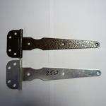 Петля стрела ПС-250 бронзовый  антик, медный антик, серебряный антик, цинк. ПЕРМЬ