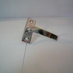 Завертка оконная STRONG KL-165 белая, золото, хром