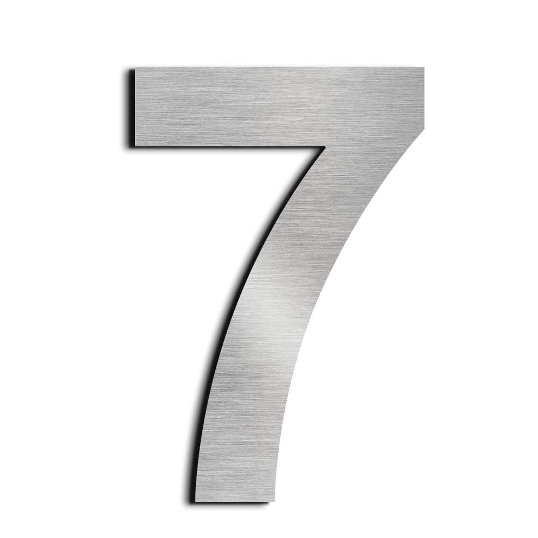 Цифра дверного номера металлические хром 7см- 0 (9810), 1 (9809), 2 (9811), 3 (9812), 4 (9813), 5 (9814), 6 (9815), 7 (9816), 8 (9817), 9 (9818) большая.