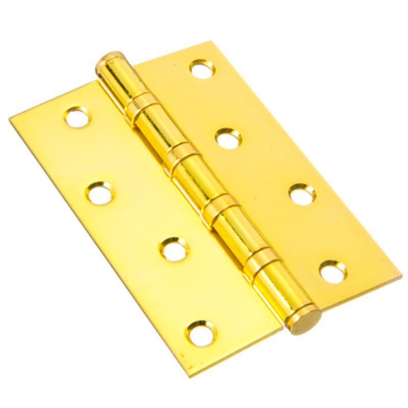 Петля универсальная Антал  4*3*2,5 4ВВ  золото (6771)