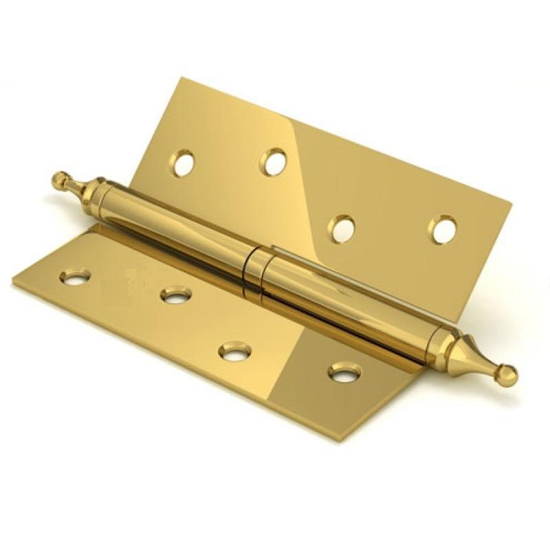 Петля с колпачком  4*3*2,5 -1ВВ золото  левая (9053) , правая (9054)