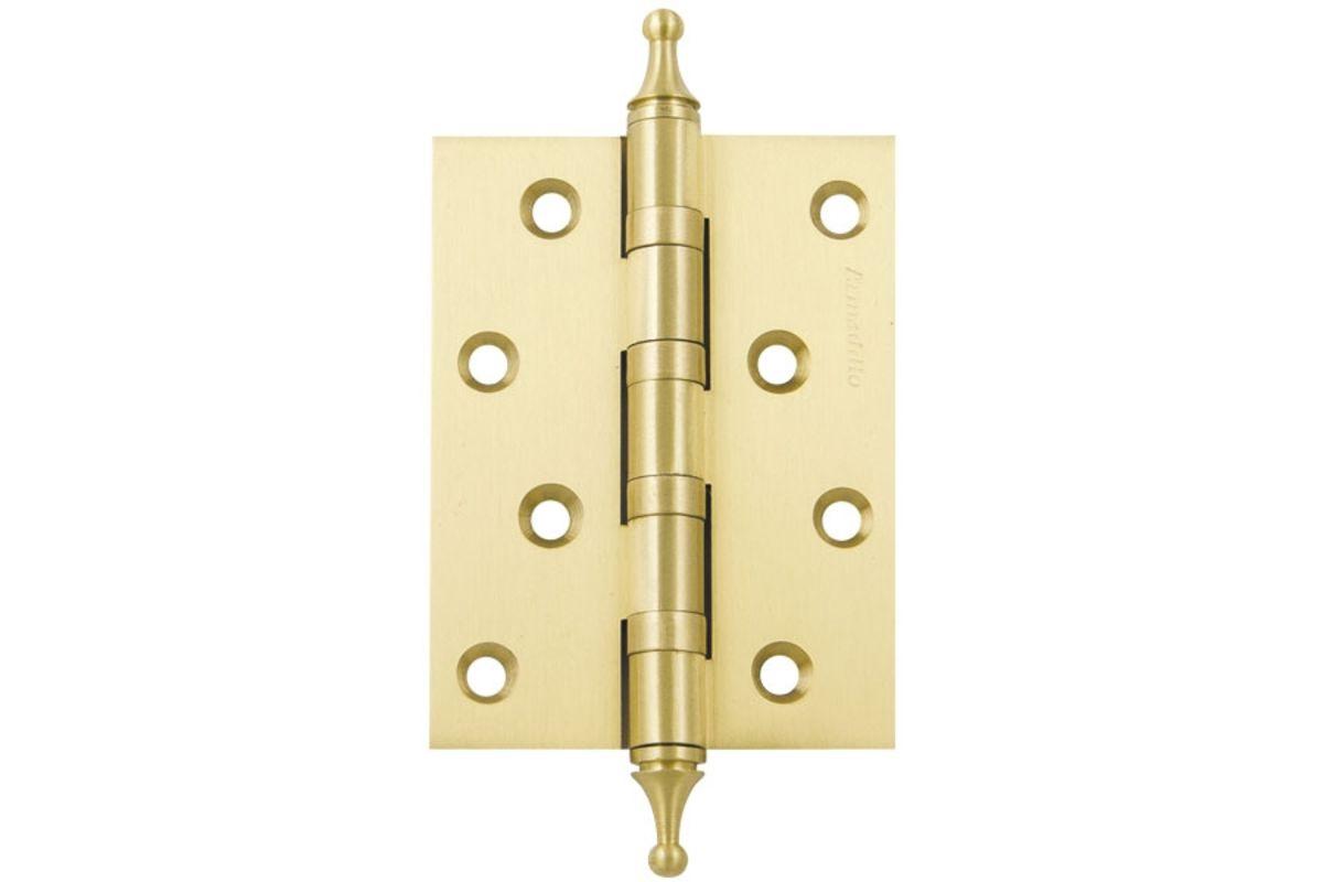 Петля универсальная Антал  4*3*2,5 4ВВ  золото колпачок (6772)