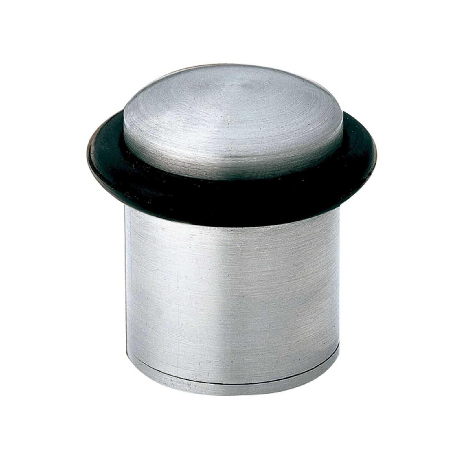 Ограничитель дверной КL-116 NO-2 матовый хром (9846)