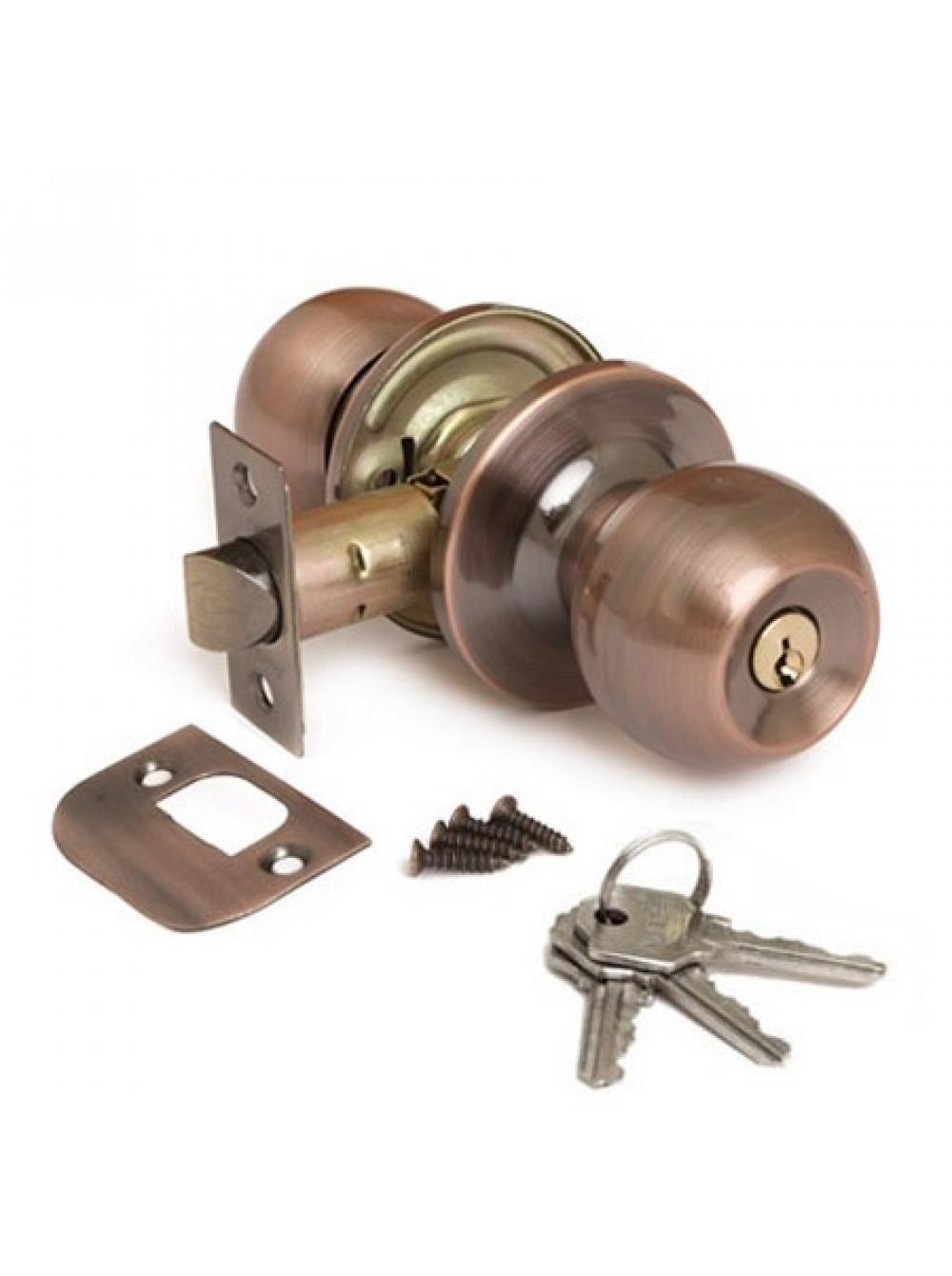 Защелка АВЕРС 6072-01 медь ключ-фиксатор (10092)