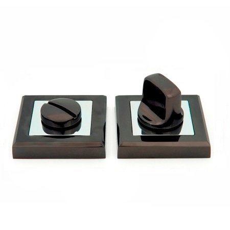 Фиксатор Windrose черный никель WC-1803 квадрат (9913)
