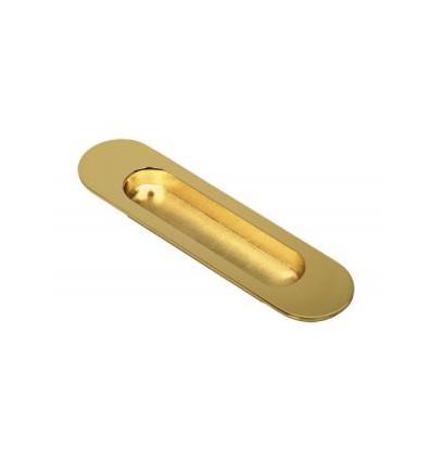 Ручка для дверей купе 2821 золото СИРИУС (7592)