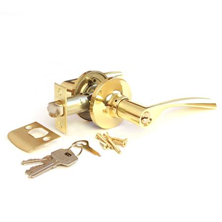 Защелка АВЕРС 8023-01 ключ-фиксатор золото (10128)