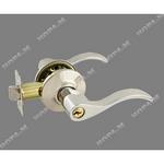 Защелка межкомнатная НН-01 хром,ключ-фиксатор (6295)