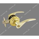 Защелка межкомнатная  ТТ12-01 золото ключ/фиксатор (6310)