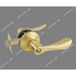 Защелка межкомнатная ЗВ3-01 золото ключ-фиксатор,(6102)