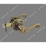 Защелка межкомнатная  ЗВ -01 ключ-фиксатор бронза (6035)